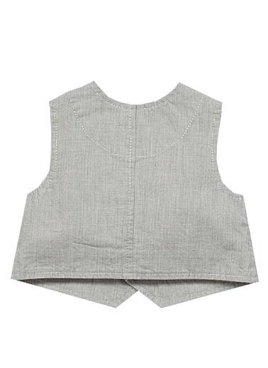 Zeynep Tekstil Yelek Gri